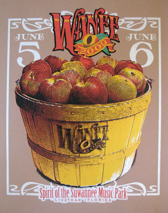 2009 wanee poster